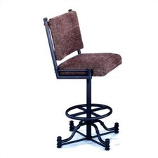 "Bullseye 30"" Bar Stool with Cushion"