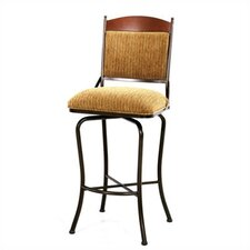 "Madera 34"" Bar Stool with Cushion"