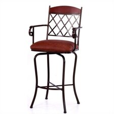 "Madrid 34"" Bar Stool with Cushion"