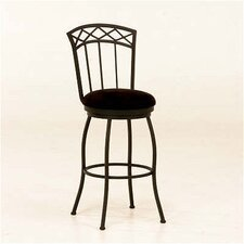 <strong>Tempo</strong> Porterville Swivel Bar Stool - Matte Black Finish