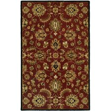 <strong>Harounian Rugs International</strong> Pars Kashan Burgundy Rug