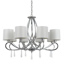 Bolsena 8 Light Chandelier