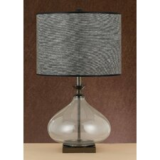 "25"" H Table Lamp with Drum Shade"