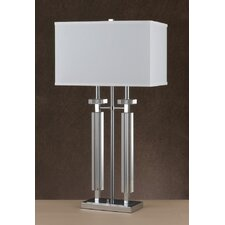 "31"" H Table Lamp with Rectangular Shade"