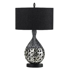 "Tortona 30.5"" H Table Lamp with Oval Shade"
