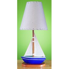 Juvenile Sail Boat Table Lamp
