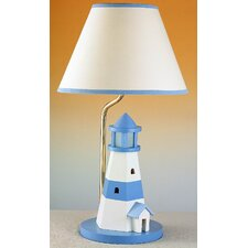 Juvenile Lighthouse Table Lamp with Night Light