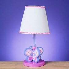 <strong>Cal Lighting</strong> Butterfly Table Lamp with Shade