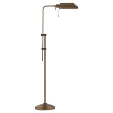 Pharmacy Floor Lamp with Metal Shade