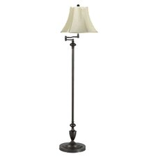 Angelo Bronze Swing Arm Floor Lamp