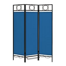 """66.63"""" x 54"""" Privacy Screen in a Box™ 3 Panel Room Divider"""
