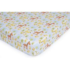 Basics Safari Duck Fitted Sheet