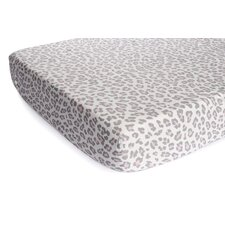 Basics Cheetah Fitted Sheet