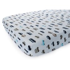 Basics Cars Fitted Sheet