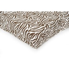 Basics Zebra Quilted Playard Fitted Sheet