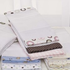 3 Piece Basics Circles Burp Cloth Set