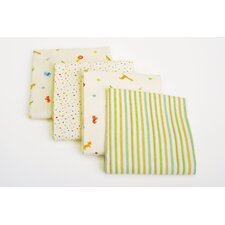 Basics 4 Piece Receiving Blanket