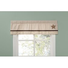 Baby Bear Rod Pocket Tailored Curtain Valance