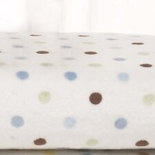 Basics Dot Velour Changing Pad Cover