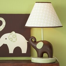 Green Elephant Table Lamp