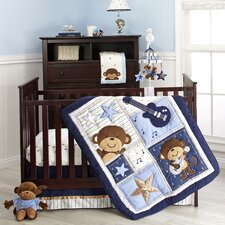 Monkey Crib Bedding Set