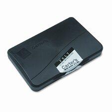 Felt Stamp Pad, 4.25w x 2.75d, Black