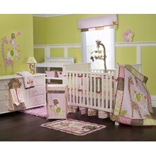 Jungle Jill Crib Bedding Collection