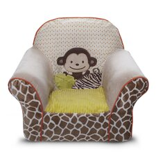 Wildlife Club Chair Slipcover