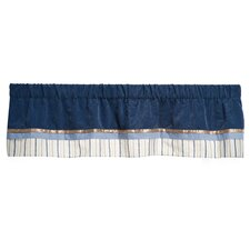 Monkey Rockstar Rod Pocket Tailored Curtain Valance