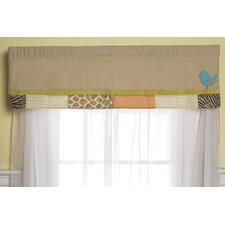 Wildlife Curtain Valance