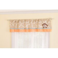 Jungle Play Rod Pocket Tailored Curtain Valance