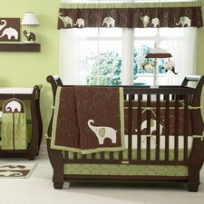 Elephant Crib Bedding Collection