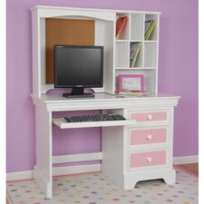 "<strong>Comfort Decor</strong> Color Box Computer 29"" H x 44.25"" Desk Hutch"
