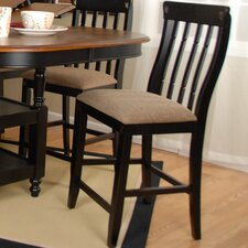 <strong>Comfort Decor</strong> Alta Vista Bar Stool with Cushion