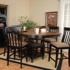 <strong>Comfort Decor</strong> Alta Vista 7 Piece Counter Height Dining Set
