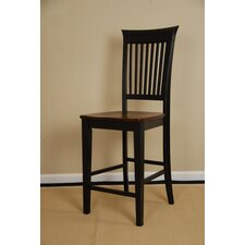 Revolution Slat Back Counter Stool