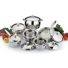 <strong>BergHOFF International</strong> Stainless Steel 12-Piece Cookware Set