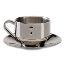 Straight Line 6.4 oz. Cappuccino Cup and Saucer