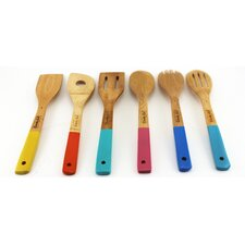 CookNCo 6 Piece Bamboo Utensil