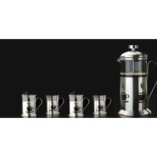 CookNCo French Press 2.5 Cups Coffee Maker