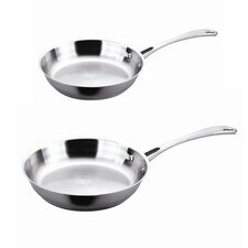EarthChef 2 Piece Copper-Core Frying Pan Set