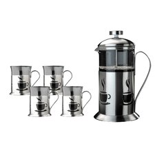 Studio French Press 5 Piece Coffee Set