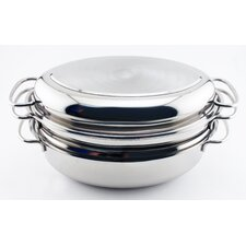 "Eclipse 4 Piece 11.75"" Oval Roaster Set"