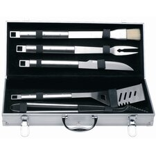 Cubo 6 Piece BBQ Tool Utensil Set