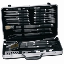<strong>BergHOFF International</strong> Gemini 33 Piece Barbecue Set with Case