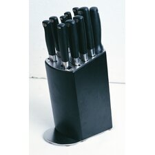 <strong>BergHOFF International</strong> Gourmet Line 11 Piece Cutlery Block Set