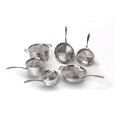 <strong>BergHOFF International</strong> Professional Copper Clad Stainless Steel 10-Piece Cookware Set