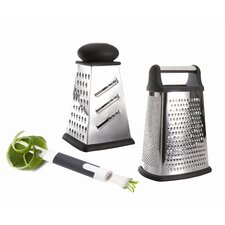 <strong>BergHOFF International</strong> Studio 2-Piece Grater Set with Zester