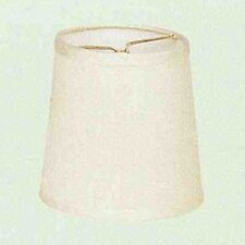 Cream Dupioni Drum Shade