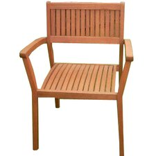 <strong>Vifah</strong> Stacking Dining Arm Chairs (Set of 4)